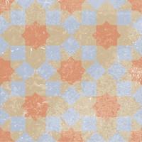 Golden Tile декор Ethno 16 микс 18.6x18.6 (Н8Б160)