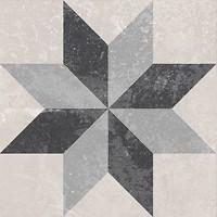 Golden Tile декор Ethno 17 микс 18.6x18.6 (Н8Б170)