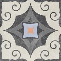 Фото Golden Tile декор Ethno 23 микс 18.6x18.6 (Н8Б230)