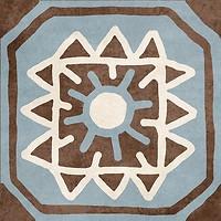 Фото Golden Tile декор Africa микс 18.6x18.6 (Н1Б090)