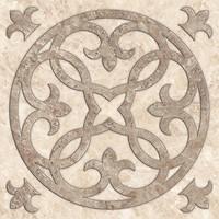 TAU Ceramica грес (керамогранит) декор Shine Imperial Roseton 60x60