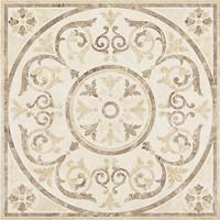 TAU Ceramica грес (керамогранит) декор Shine Roseton Omeya Marfil 60x60