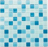 Котто Кераміка мозаика стеклянная GM 4018 C3 Blue D/Blue M/Blue W 30x30