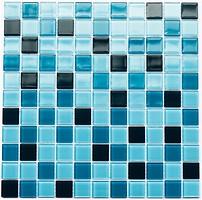 Котто Кераміка мозаика стеклянная GM 4020 C3 Cerulean D/Cerulean M/Cerulean W 30x30