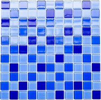 Котто Кераміка мозаика стеклянная GM 4023 C3 Cobalt D/Cobalt M/Cobalt W 30x30