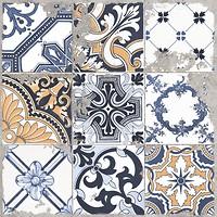 Фото Golden Tile грес (керамогранит) декор Terragres Limestone Vintage 2 60x60 (23Б560)