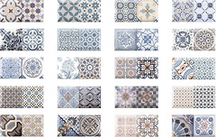 Monopole Ceramica плитка настенная Antique Sky 10x20
