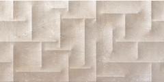 Cristal Ceramica грес (керамогранит) Serena Almond Relieve 45x90