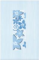 Cersanit декор ФИЕСТА (FIESTA) Цветок Азул 20x30
