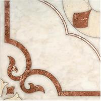 Inter Cerama плитка напольная CASTELLO красно-коричневая 43x43