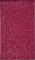 Inter Cerama плитка настенная BRINA темно-розовая 23x40