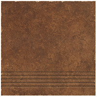 Ceramika Gres ступень Riva Brown 33x33