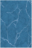 Golden Tile плитка настенная Александрия темно-голубая 20x30 (В13061)