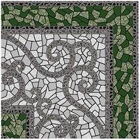 Golden Tile плитка напольная Византия зеленая 30x30 (774730)