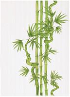 Фото БерезаКерамика декор Ретро Бамбук 2 салатовый 25x35