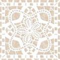 Керамин декор вставка Органза 4 9.8x9.8