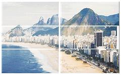 APE декор-панно Brasil Composicion (6) Brasil 60x120 (комплект 6 шт)