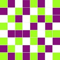Ceramika Konskie мозаика Michelle Mosaic Green/White/Violet 20x20