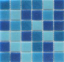 Stella De Mare мозаика стеклянная R-MOS B31323335 MIX голубая 32.1x32.1