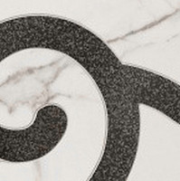 Tubadzin грес (керамогранит) угол Carrara 2P 14.8x14.8