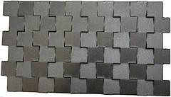 Realonda грес (керамогранит) Kubik Negro 31.5x56.5