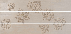 Cerdisa грес (керамогранит) декор-панно Legnotech Listello Mix 3 Betulla 39x80 (комплект 3 шт)