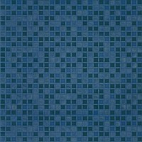 Фото БерезаКерамика плитка напольная Квадро G синяя 42x42