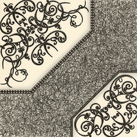 БерезаКерамика плитка напольная Полонез G белая 42x42