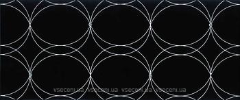 Ceramika Color Dekor Neo Geo Dekor Cristal Black 25x60