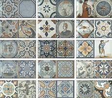 Monopole Ceramica плитка настенная Antique 10x20