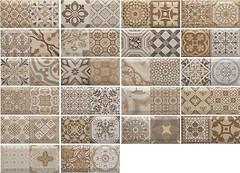 Monopole Ceramica плитка настенная Antique Marron 10x20