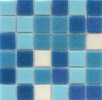 Stella De Mare мозаика стеклянная R-MOS B1131323335 MIX голубая 32.1x32.1