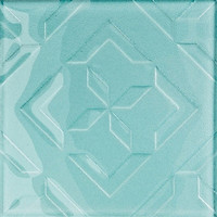 Opoczno декор КУБАН КУБ (CUBAN CUBE) светло-синий 20x20