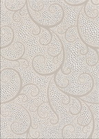 БерезаКерамика декор Капри жемчуг белый 25x35