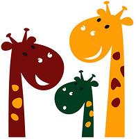 Glozis Cute Giraffes