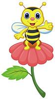 Glozis Bee on a Flower