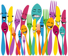 Glozis Spoon and Forks