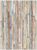 Komar Products Vintage Wood 4-910