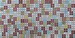 Фото Регул листовая панель 956x480x4 мм Мозаика Блик красный (бк1)