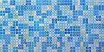 Фото Регул листовая панель 956x480x4 мм Мозаика Блик синий (бс1)