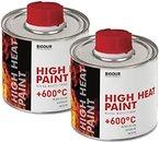 Фото Biodur High Heat Paint 0.2 л серебристая