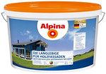 Фото Alpina Die Langlebige fur Holzfassaden B1 10 л белая шелковисто-матовая