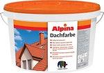 Фото Alpina Dachfarbe 10 л темно-коричневая