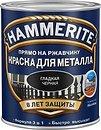 Фото Hammerite гладкая черная 2.5 л