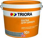 Фото Triora для шифера красно-коричневая 10 л