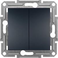 Schneider Выключатель Asfora EPH0300171 двухклавишный