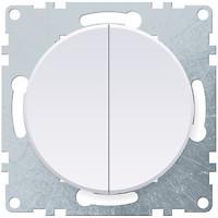 Фото OneKeyElectro Выключатель 1E31501300 двухклавишный