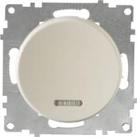 Фото OneKeyElectro Выключатель 1E31701301 одноклавишный с подсветкой