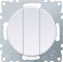 Фото OneKeyElectro Выключатель 1E31901300 трехклавишный