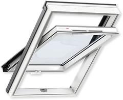 Мансардное окно Velux GLP 660х980 1-ств. (цент. ось) 1-кам.